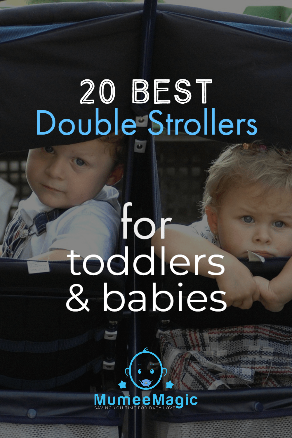 Double stroller For Toddlers and Babies