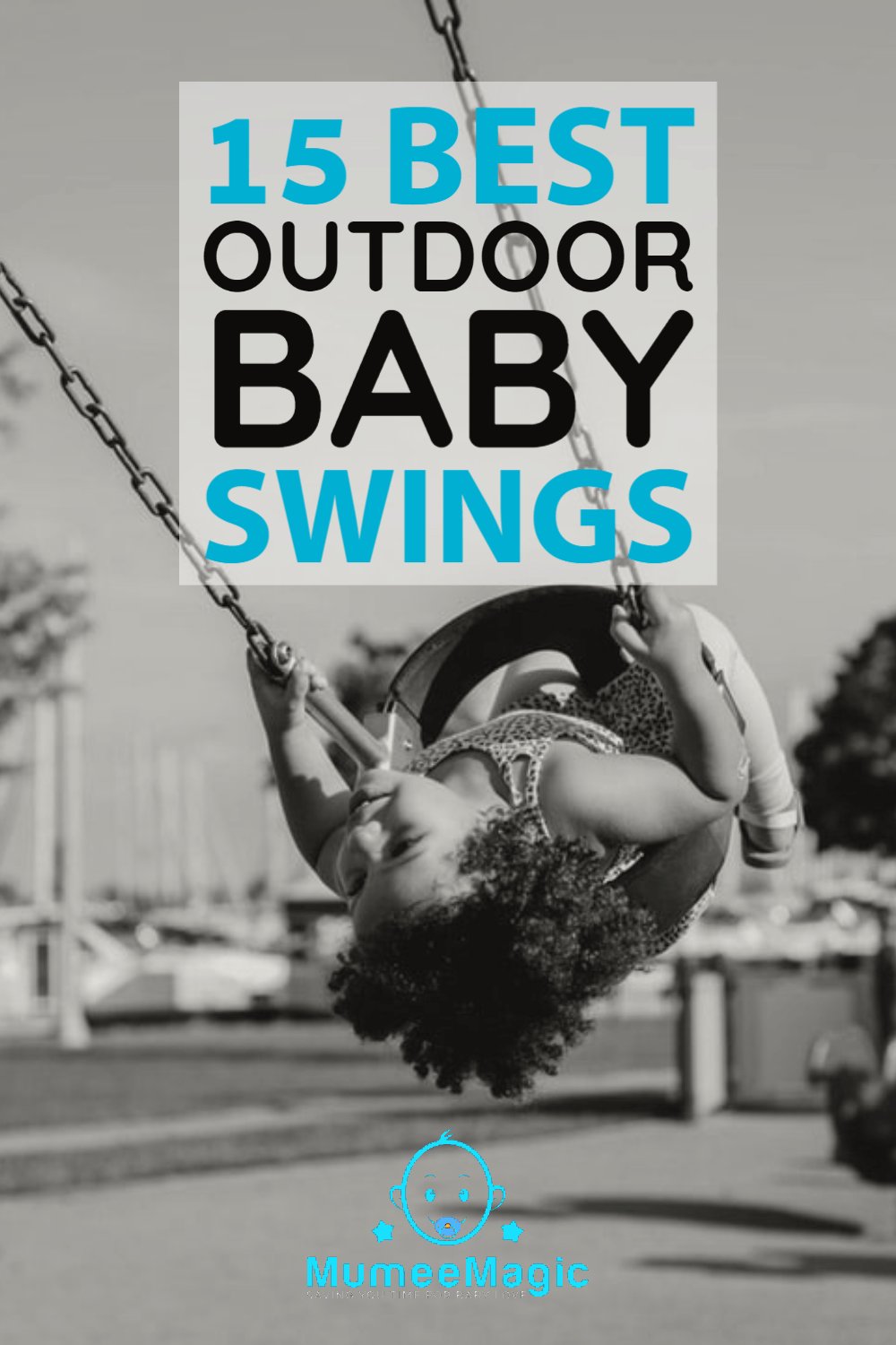 Picture of outdoor baby swing