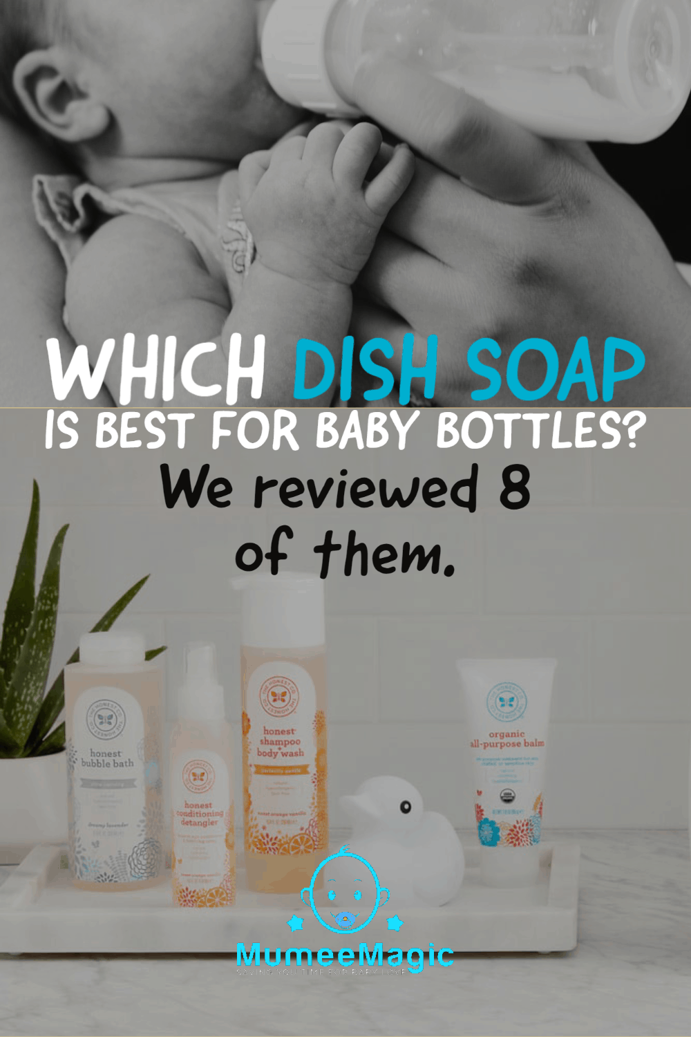 Dish soap for baby bottles