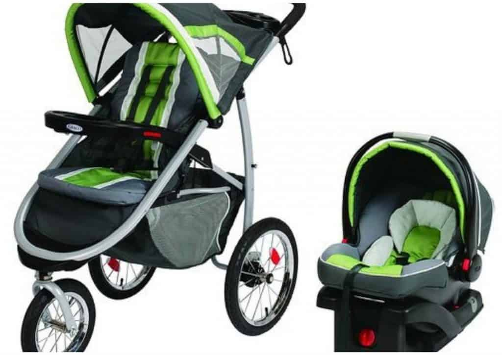 Graco FastAction Jogger Travel System Rixen